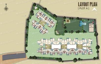 1050 sqft, 2 bhk Apartment in Kanungo Kanungo Pinnacolo Apartment Mira Road, Mumbai at Rs. 84.0000 Lacs