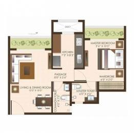 693 sqft, 1 bhk Apartment in JP Atria Mira Road East, Mumbai at Rs. 55.4400 Lacs