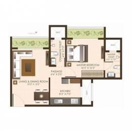 1089 sqft, 2 bhk Apartment in JP Estella Mira Road East, Mumbai at Rs. 87.1200 Lacs