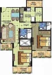 1240 sqft, 2 bhk Apartment in BRG Nirvana Arcade Manglia, Indore at Rs. 8000