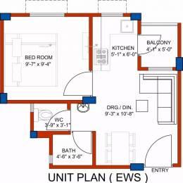 350 sqft, 1 bhk Apartment in BDI Ananda Sector 69 Bhiwadi, Bhiwadi at Rs. 6.2500 Lacs