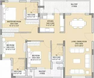 1785 sqft, 3 bhk Apartment in Vatika Gurgaon 21 Sector 83, Gurgaon at Rs. 20000