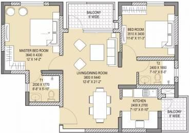 1245 sqft, 2 bhk Apartment in Vatika Gurgaon 21 Sector 83, Gurgaon at Rs. 70.0000 Lacs
