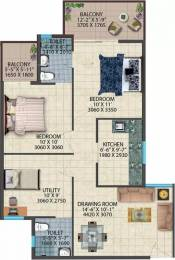 817 sqft, 2 bhk Apartment in Conscient Habitat 78 Sector 78, Faridabad at Rs. 20.0000 Lacs