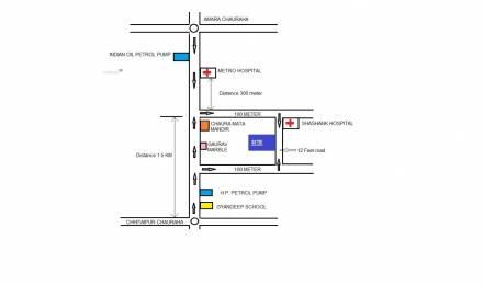1000 sqft, 2 bhk Apartment in Builder Project Chitaipur Chunar Road, Varanasi at Rs. 28.2500 Lacs
