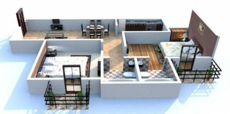 1047 sqft, 2 bhk Apartment in Builder Project Sector 70, Faridabad at Rs. 32.0000 Lacs