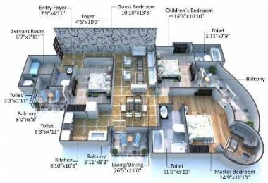 1999 sqft, 3 bhk Apartment in Builder Project Sector 28, Faridabad at Rs. 95.0000 Lacs