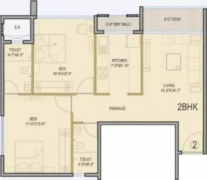 1117 sqft, 2 bhk Apartment in  Palazzio Jogeshwari East, Mumbai at Rs. 1.6500 Cr