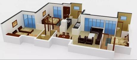 1640 sqft, 3 bhk Apartment in Amrapali Sapphire Sector 45, Noida at Rs. 75.0000 Lacs
