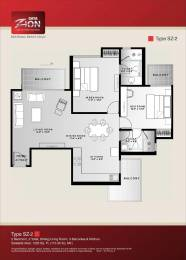 1220 sqft, 2 bhk Apartment in Saya Zion Sector 4 Noida Extension, Greater Noida at Rs. 55.0000 Lacs