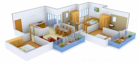 1440 sqft, 3 bhk Apartment in Bhutani Presithum Sector 25 Yamuna Express Way, Noida at Rs. 57.4500 Lacs