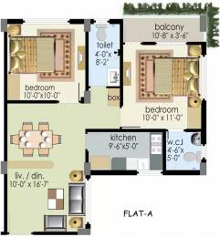 964 sqft, 2 bhk Apartment in Prabhu Orchard Raipur, Kolkata at Rs. 24.5820 Lacs