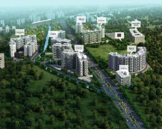 1565 sqft, 3 bhk Apartment in Kolte Patil Downtown Cheryl Ashok Nagar, Pune at Rs. 30000