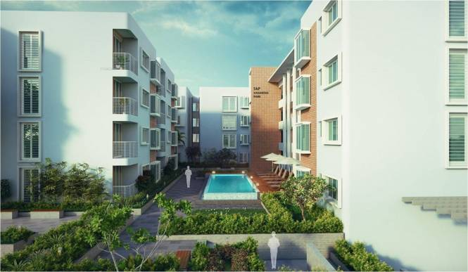 1414 sqft, 3 bhk Apartment in Builder Vasantha TAP park JP Nagar Phase 8, Bangalore at Rs. 73.0000 Lacs