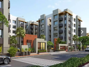 1200 sqft, 2 bhk Apartment in Manidhara Realty Mangal Murti Residency Adajan, Surat at Rs. 10000