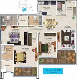 1882 sqft, 3 bhk Apartment in Bharat Skyvistas Andheri West, Mumbai at Rs. 1.3500 Lacs