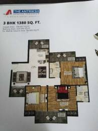 1380 sqft, 3 bhk Apartment in The Antriksh The Golf Address Sector 150, Noida at Rs. 58.6400 Lacs