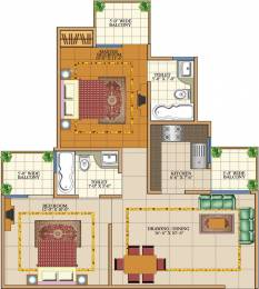 950 sqft, 2 bhk Apartment in SVP Gulmohar Garden Phase 2 Raj Nagar Extension, Ghaziabad at Rs. 28.0000 Lacs