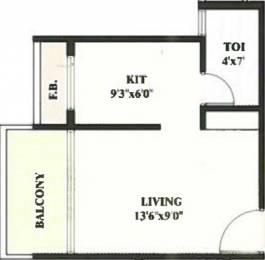 445 sqft, 1 bhk Apartment in Devkrupa Dev Residency Kharghar, Mumbai at Rs. 40.0000 Lacs