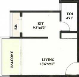 445 sqft, 1 bhk Apartment in Devkrupa Dev Residency Kharghar, Mumbai at Rs. 40.0000 Lacs