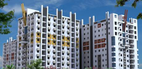 1075 sqft, 3 bhk Apartment in Loharuka Green Heights Rajarhat, Kolkata at Rs. 53.0000 Lacs