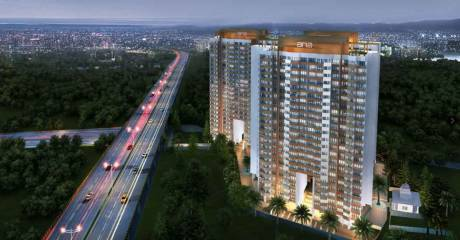890 sqft, 2 bhk Apartment in ANA Avant Garde Phase 1 Mira Road East, Mumbai at Rs. 75.6500 Lacs