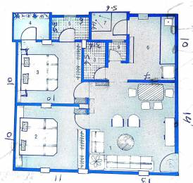 600 sqft, 2 bhk Apartment in Builder Neel Complex Nava Vadaj, Ahmedabad at Rs. 12000