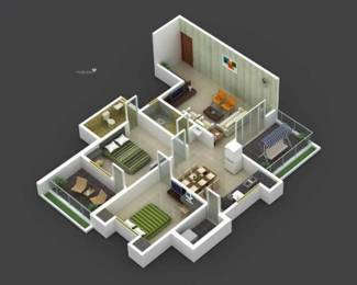 1465 sqft, 2 bhk BuilderFloor in Builder Project Sector 5, Gurgaon at Rs. 16000