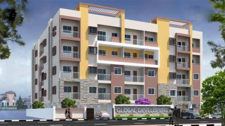 1360 sqft, 3 bhk Apartment in Builder swasthik global naveen Rajarajeshwari Nagar, Bangalore at Rs. 65.2800 Lacs