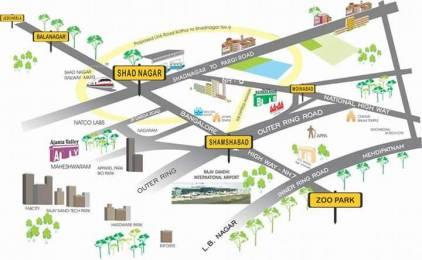 1323 sqft, Plot in Builder Milestone Avenue city Timmapur, Hyderabad at Rs. 14.3000 Lacs