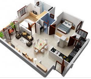 660 sqft, 2 bhk Apartment in Builder Project Chinar Park, Kolkata at Rs. 17.0000 Lacs
