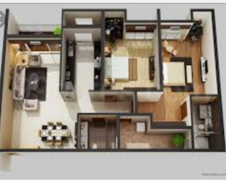 760 sqft, 2 bhk Apartment in Builder Project Tangra, Kolkata at Rs. 26.0000 Lacs