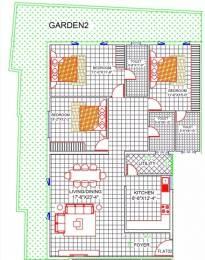 2313 sqft, 3 bhk Apartment in Redifice Arlington Promenade Frazer Town, Bangalore at Rs. 1.2500 Lacs