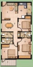 1315 sqft, 3 bhk Apartment in Jain Salzburg Bandlaguda Jagir, Hyderabad at Rs. 55.2300 Lacs