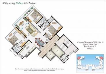 1830 sqft, 3 bhk Apartment in Lokhandwala Whispering Palms XXclusives Kandivali East, Mumbai at Rs. 3.2500 Cr