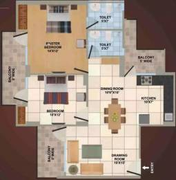 1150 sqft, 2 bhk Apartment in Panchsheel Wellington Crossing Republik, Ghaziabad at Rs. 32.0000 Lacs