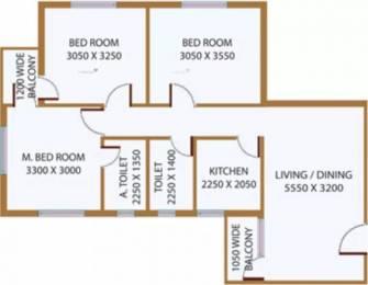 1156 sqft, 3 bhk Apartment in Deeshari Megacity Sonarpur, Kolkata at Rs. 15000
