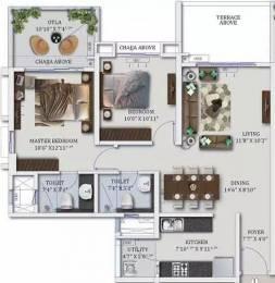 1106 sqft, 2 bhk Apartment in Mahindra Antheia Pimpri, Pune at Rs. 20000