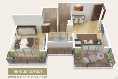 595 sqft, 1 bhk Apartment in Builder DGS Sheetal sejal Nalasopara West, Mumbai at Rs. 21.4300 Lacs