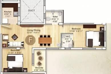 777 sqft, 2 bhk Apartment in Rupayan Su Casa Twins Narendrapur, Kolkata at Rs. 30.0000 Lacs