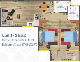 904 sqft, 2 bhk Apartment in Arete Our Homes 3 Sector 6 Sohna, Gurgaon at Rs. 2.4821 Cr