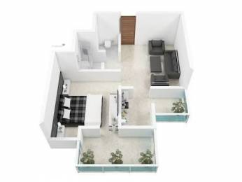 470 sqft, 1 bhk Apartment in Builder Project Rohaniya, Varanasi at Rs. 12.0000 Lacs