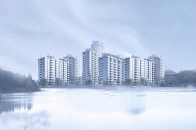 1335 sqft, 2 bhk Apartment in Ashoka Lake Side Manikonda, Hyderabad at Rs. 58.0725 Lacs