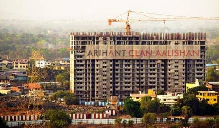 1015 sqft, 2 bhk Apartment in Arihant Superstructures Builders Clan Aalishan Sector 36 Kharghar, Mumbai at Rs. 1.0500 Cr