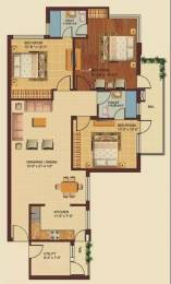 1520 sqft, 3 bhk Apartment in Omaxe Royal Residency Dad Village, Ludhiana at Rs. 61.0000 Lacs