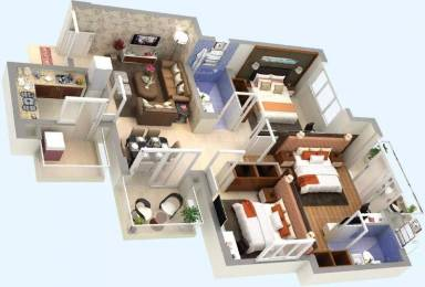 1310 sqft, 3 bhk Apartment in Hero Hero Homes Sidhwan Canal Road, Ludhiana at Rs. 58.7600 Lacs