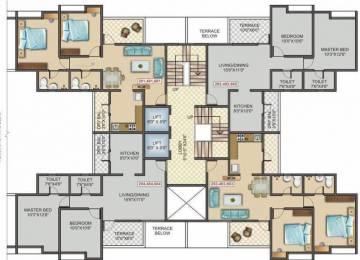 1047 sqft, 2 bhk Apartment in Sancheti Belcastel Phase II Mundhwa, Pune at Rs. 56.1765 Lacs