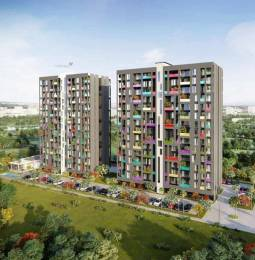 1393 sqft, 3 bhk Apartment in Oxford Florida Water Color Mundhwa, Pune at Rs. 90.5000 Lacs