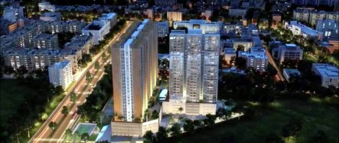 937 sqft, 2 bhk Apartment in Duville Riverdale Heights Kharadi, Pune at Rs. 89.0000 Lacs
