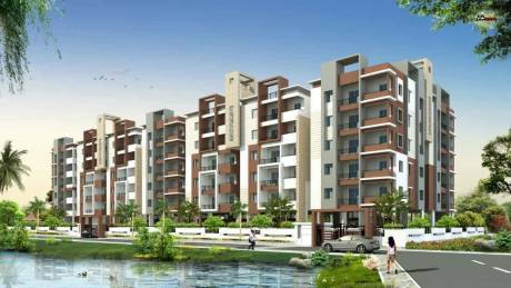 1321 sqft, 2 bhk Apartment in ECMAS Pebbles Bay Miyapur, Hyderabad at Rs. 52.8400 Lacs